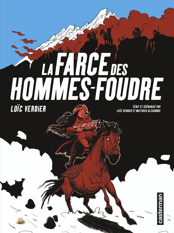 La Farce des Hommes foudre, bd chez Casterman de Verdier, Alexandre, Vilet