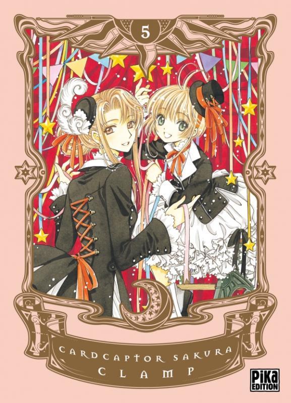 Card captor Sakura T5, manga chez Pika de Clamp