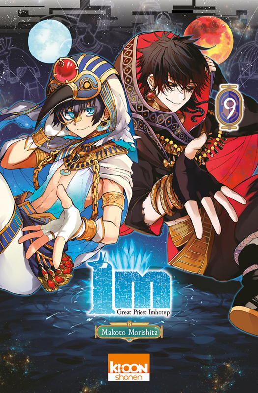 Im - Great Priest Imhotep  T9, manga chez Ki-oon de Morishita
