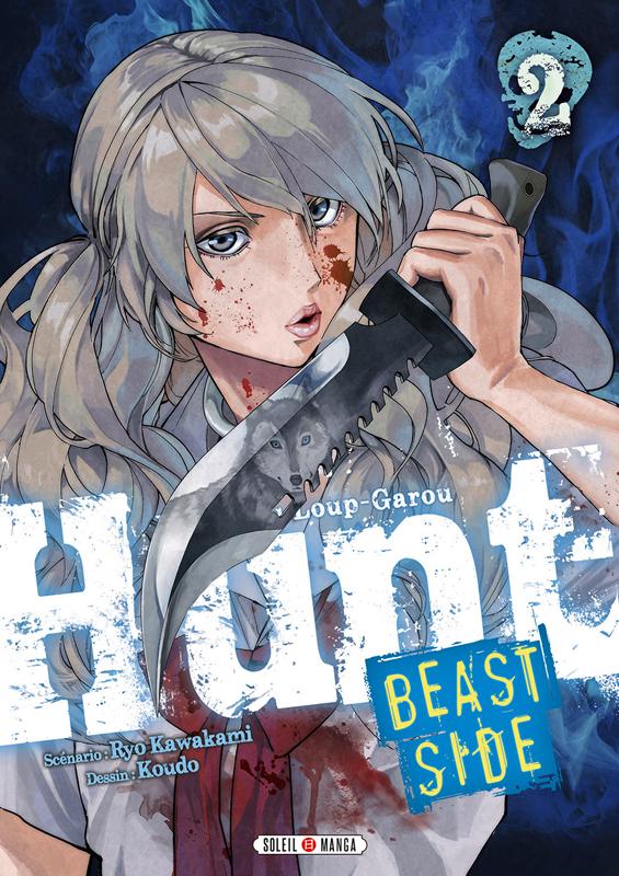 Hunt Le Jeu du Loup-Garou Beast side T2, manga chez Soleil de Kawakami, Koudo
