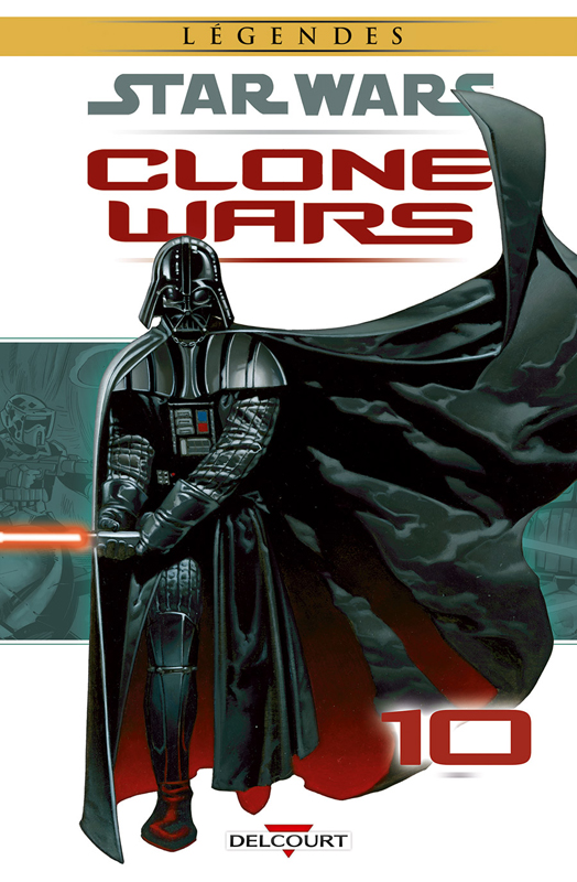 Star Wars - Clone Wars T10 : Epilogue (0), comics chez Delcourt de Hartley, Ostrander, Duursema, Parsons, Wheatley, Chuckry, Pattison, Anderson, Giorello