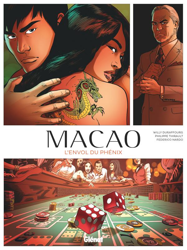 Macao T2 : L'Envol du Phénix (0), bd chez Glénat de Thirault, Durafourg, Nardo, Battistuta