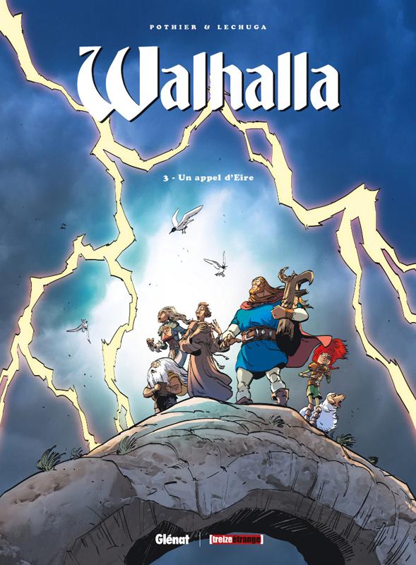 Walhalla T3 : Un appel d'Eire (0), bd chez Glénat de Pothier, Lechuga, Cesano