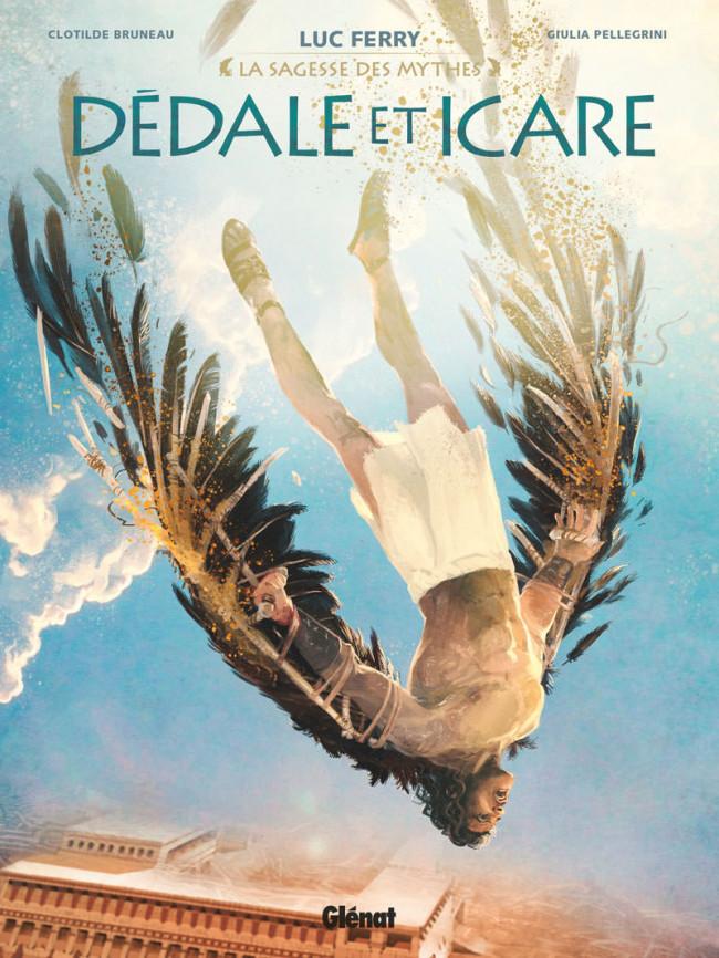Dédale et Icare, bd chez Glénat de Bruneau, Pellegrini, Zeppegno, Arancia, Vignaux