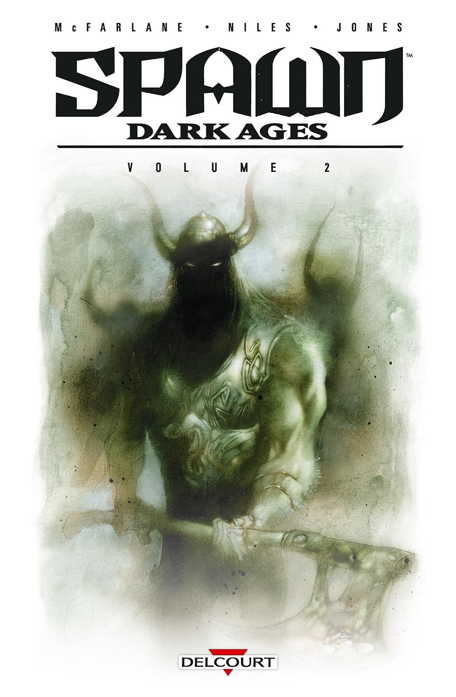 Spawn Dark Ages T2, comics chez Delcourt de Niles, Conrad, Bonk, Jones, Broeker, Nicholas, Wood