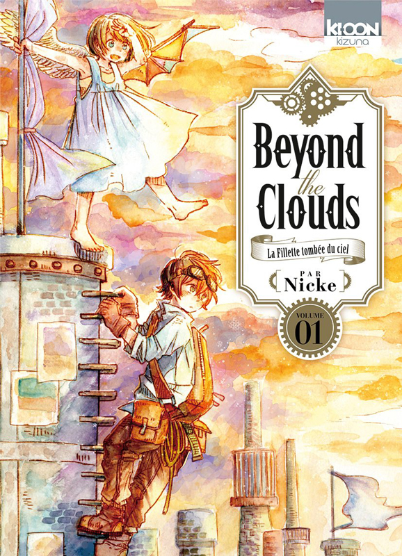 Beyond the clouds T1, manga chez Ki-oon de Nicke