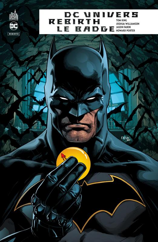 DC Univers Rebirth : Le badge  (0), comics chez Urban Comics de