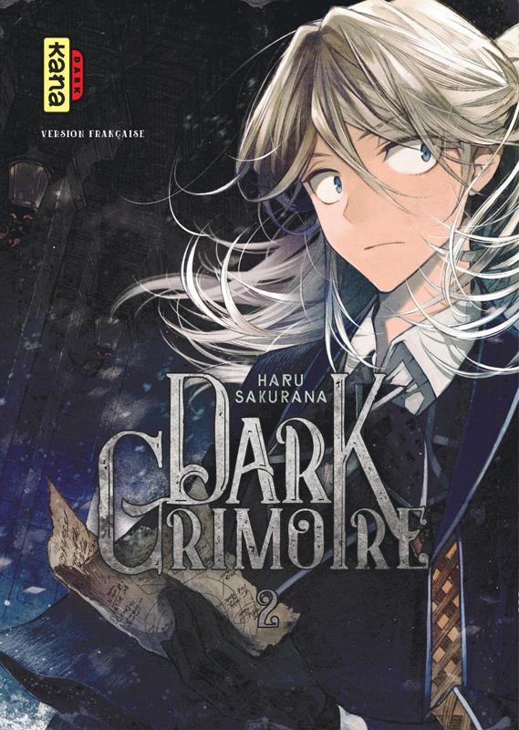 Dark grimoire T2, manga chez Kana de Haru