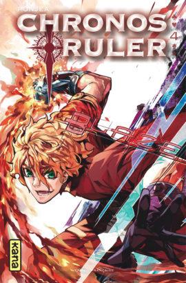 Chronos ruler T4, manga chez Kana de Ponjea