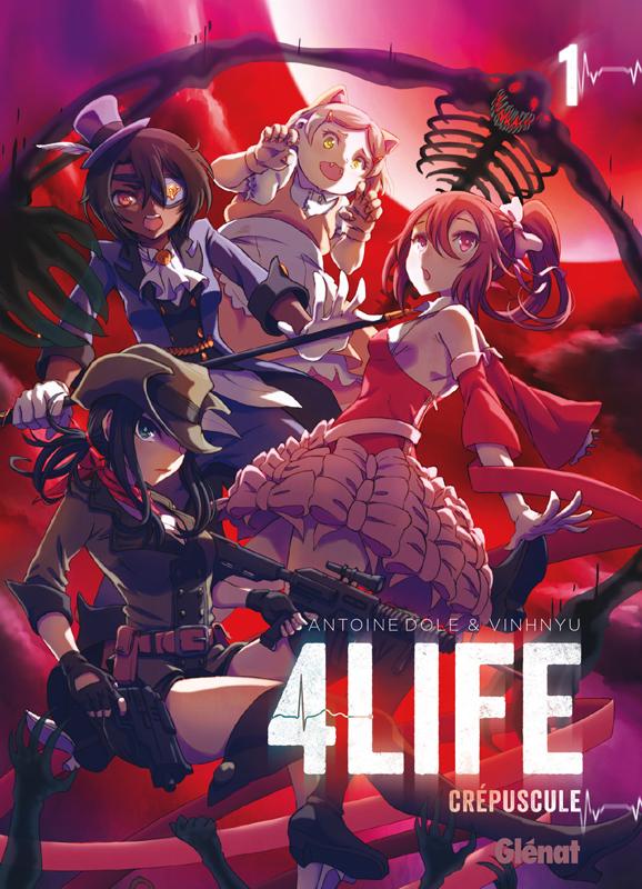 4 life T1 : Crépuscule (0), manga chez Glénat de Dole, Vinhnyu