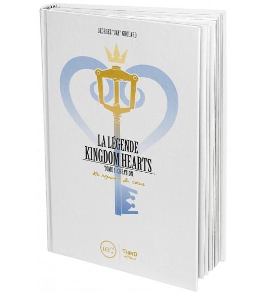 La Légende Kingdom Hearts T1 : Création. Le royaume de coeur (0), manga chez Third Editions de Grouard