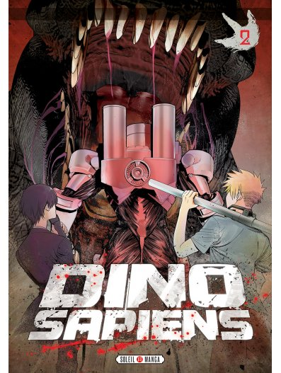 Dino-sapiens T2, manga chez Soleil de Yasui, Mori