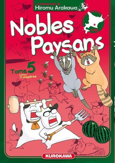 Nobles paysans T5, manga chez Kurokawa de Arakawa