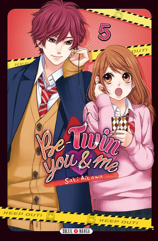 Be-twin you & me T5, manga chez Soleil de Aikawa
