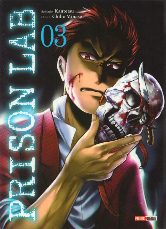 Prison lab T3, manga chez Panini Comics de Kantetsu, Minase