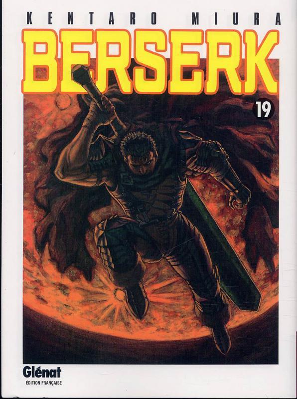 Berserk T19, manga chez Glénat de Miura