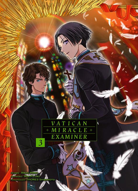 Vatican miracle examiner T3, manga chez Komikku éditions de Fujiki, Hino
