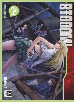 Btooom !  T24, manga chez Glénat de Inoue