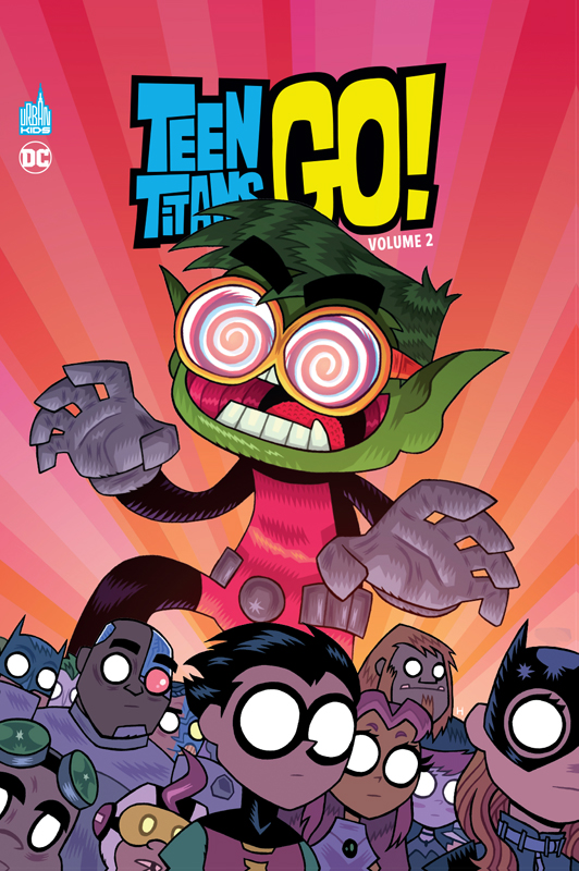 Teen Titans Go ! : Volume 2 (0), comics chez Urban Comics de Wolfram, Fisch, Hagan, Corona, Lawson, Bates, Brizuela, Hernandez, Hipp
