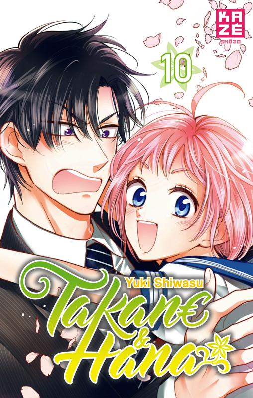 Takane & Hana T10, manga chez Kazé manga de Shiwasu