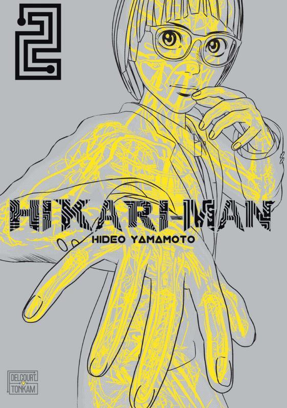 Hikari-man T2, manga chez Delcourt Tonkam de Yamamoto