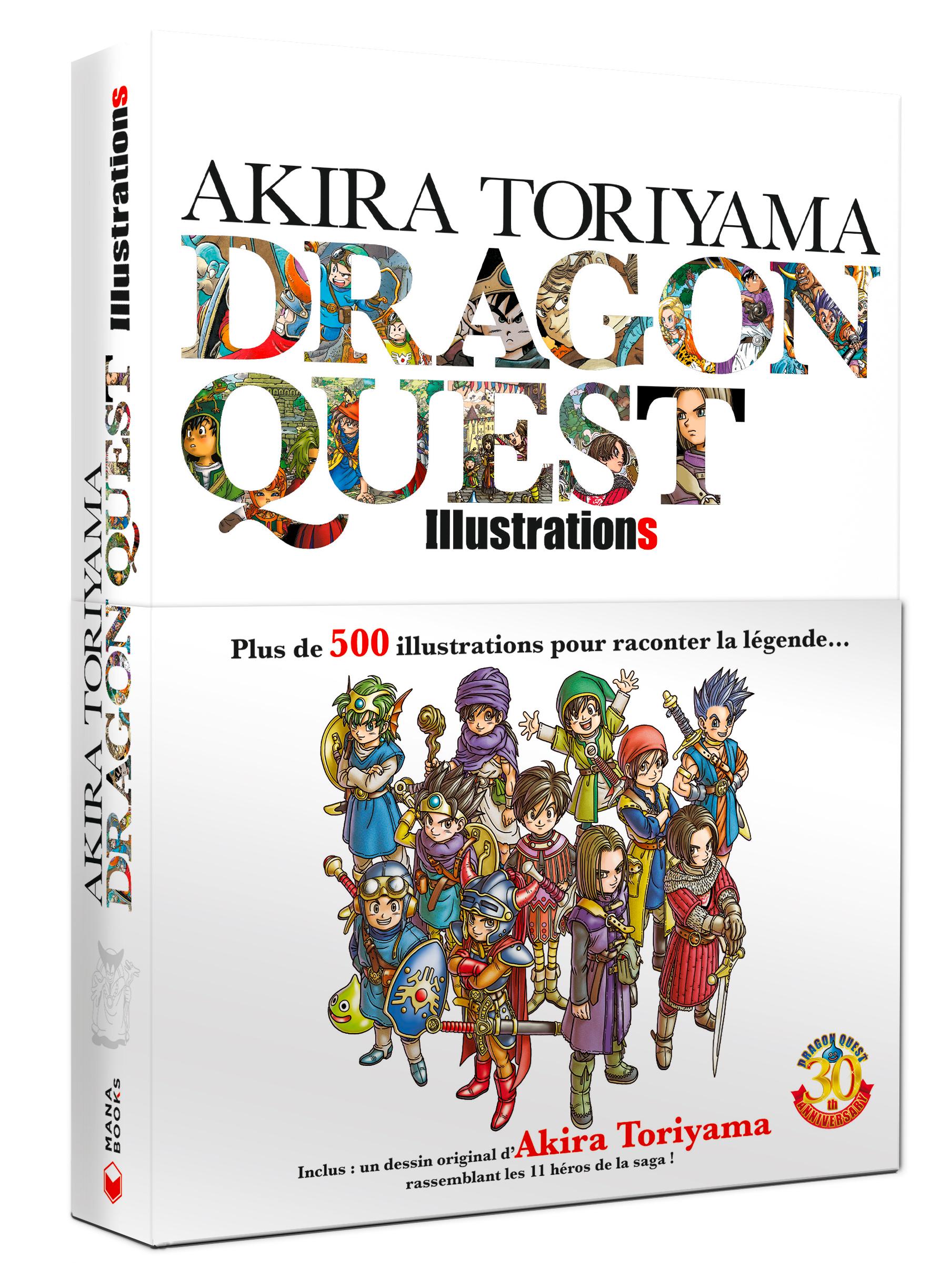 Akira Toriyama - Dragon Quest Illustrations, manga chez Mana Books de Toriyama