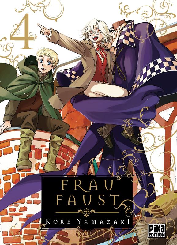 Frau Faust T4, manga chez Pika de Yamazaki