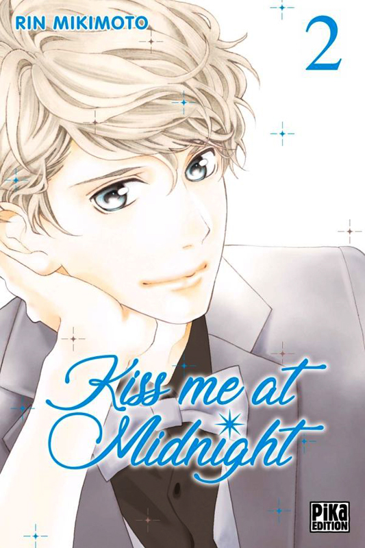 Kiss me at midnight T2, manga chez Pika de Mikimoto