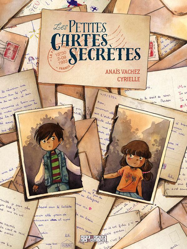 Petites Cartes Secrètes, bd chez Delcourt de Vachez, Cyrielle