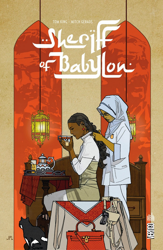 Sheriff of Babylon : Sheriff of Babylon (0), comics chez Urban Comics de King, Gerads, Leon