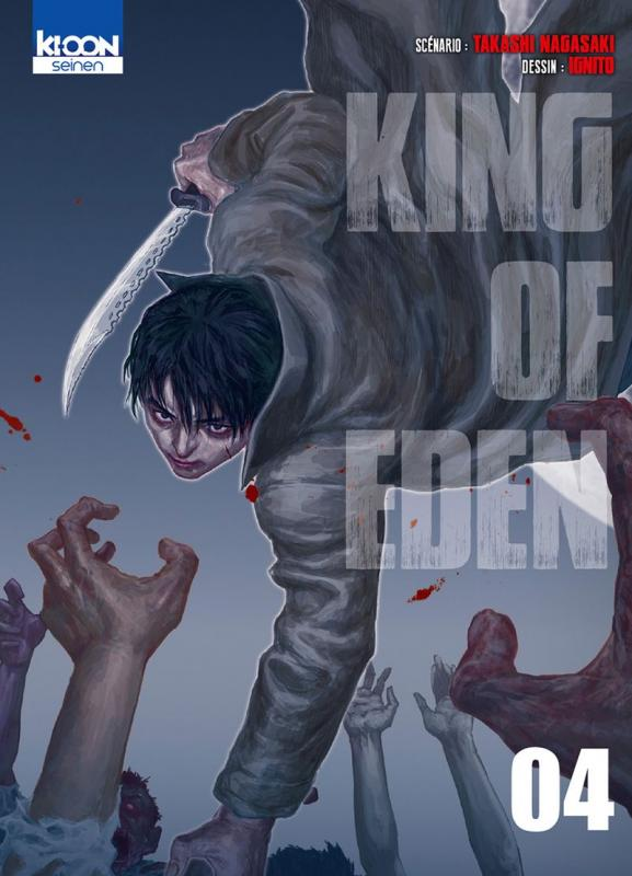 King of eden T4, manga chez Ki-oon de Nagasaki