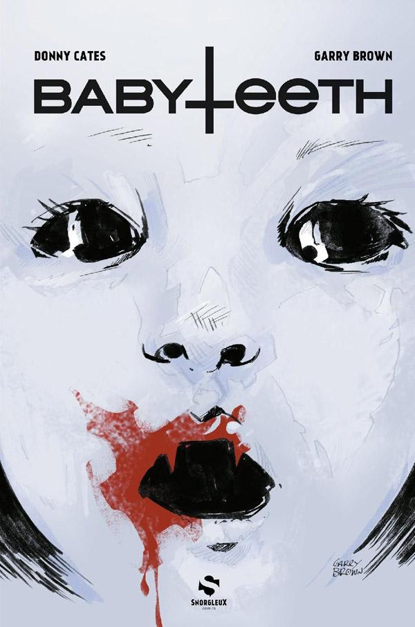 Babyteeth T1, comics chez Snorgleux de Cates, Brown, Englert