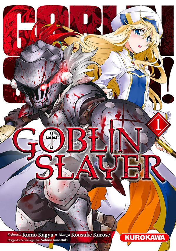 Goblin slayer T1, manga chez Kurokawa de Kagyu, Kurose