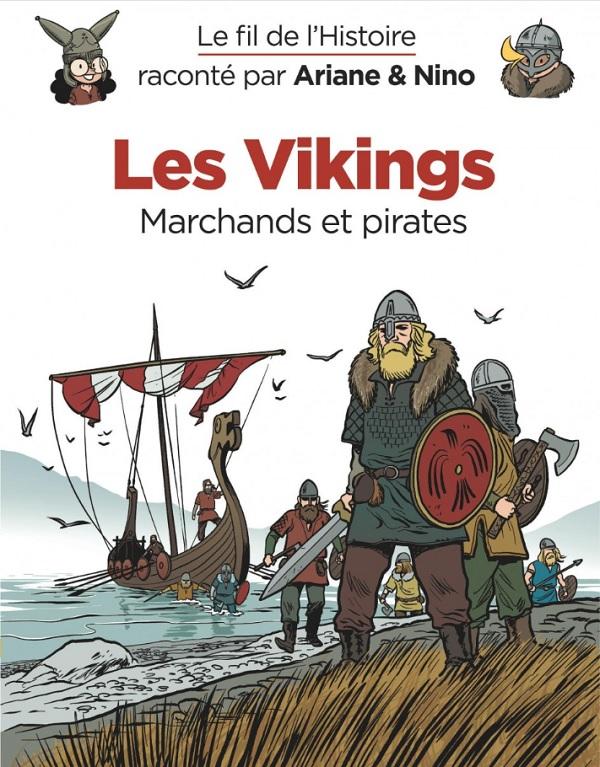 Le Fil de l'Histoire T10 : Les Vikings (0), bd chez Dupuis de Erre, Savoia