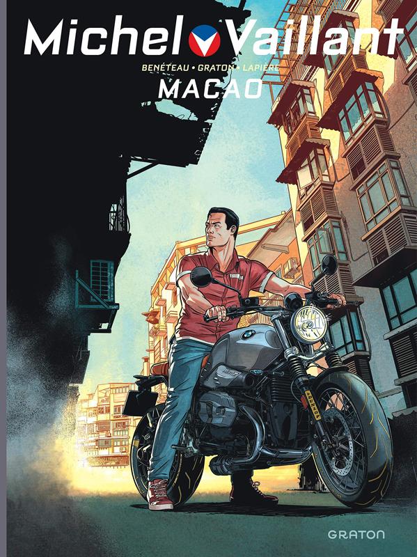 Michel Vaillant T7 : Macao (0), bd chez Dupuis de Lapière, Graton, Benéteau, Lerolle