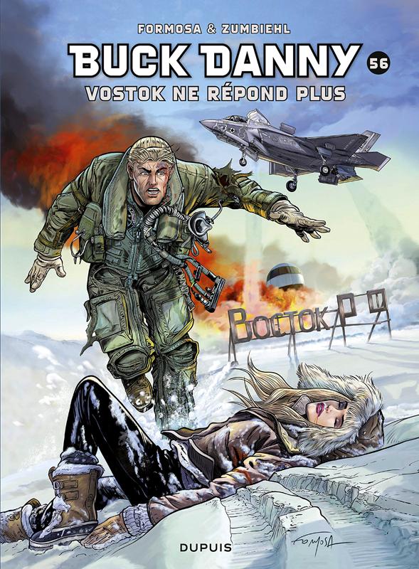 Buck Danny T56 : Vostok ne répond plus (0), bd chez Dupuis de Zumbiehl, Formosa, Drouaillet