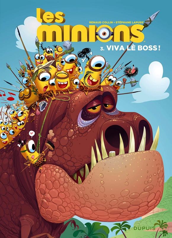 Les Minions T3 : Viva lè boss ! (0), bd chez Dupuis de Lapuss', Collin