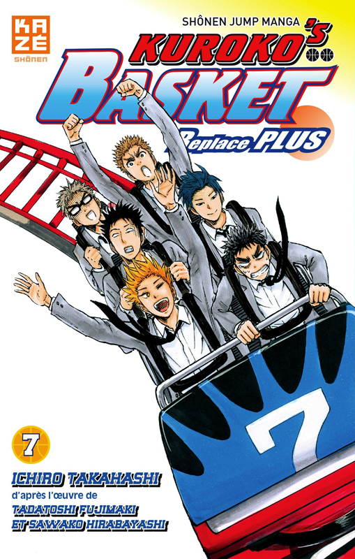Kuroko's basket Replace PLUS T7, manga chez Kazé manga de Hirabayashi,  Fujimaki