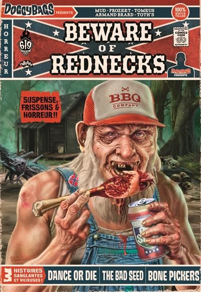 Doggybags présente : Beware of Rednecks (0), comics chez Ankama de Tomeus, Brard, Mud, Thot's, Prozeet