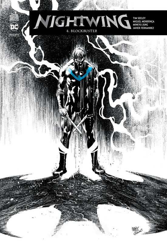 Nightwing Rebirth T4 : Blockbuster (0), comics chez Urban Comics de Seeley, Fernandez, Mendonca, Jung, Sotomayor, Reis