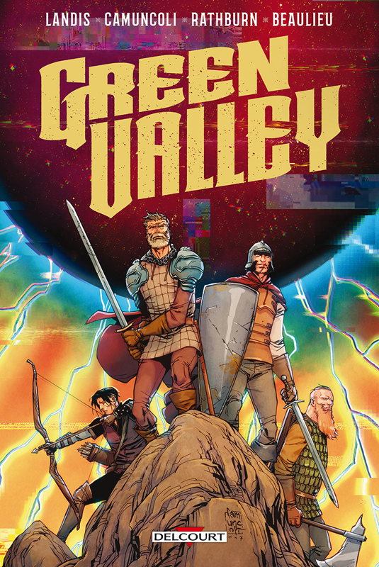 Green Valley, comics chez Delcourt de Landis, Camuncoli, Rathburn, Beaulieu