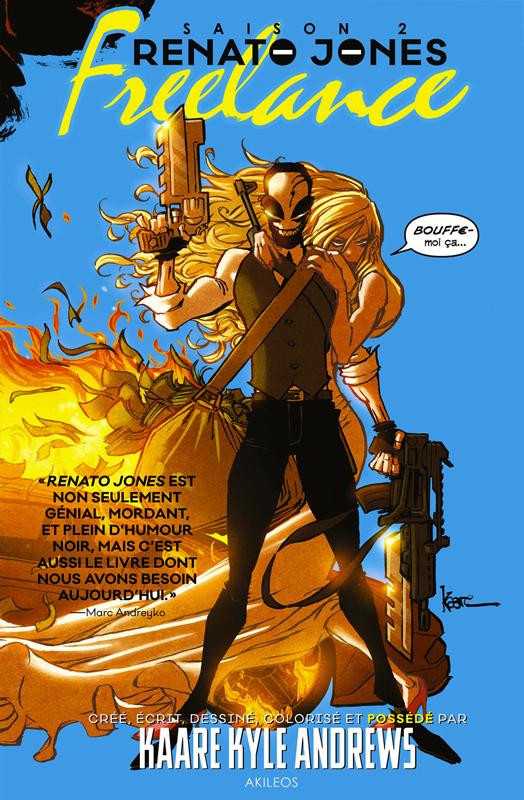 Renato Jones T2 : Freelance (0), comics chez Akileos de Andrews