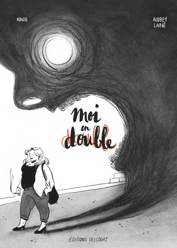 Moi en double, bd chez Delcourt de Mademoiselle Navie, Lainé