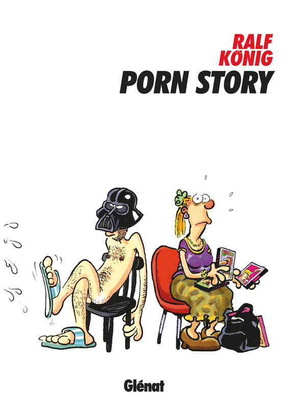 Porn Story, bd chez Glénat de König