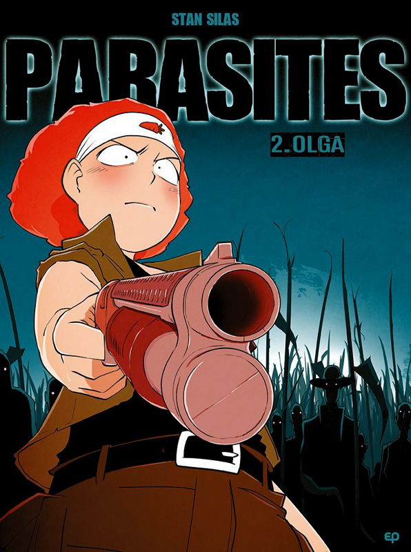 Parasites T2 : Olga (0), bd chez EP Editions de Silas