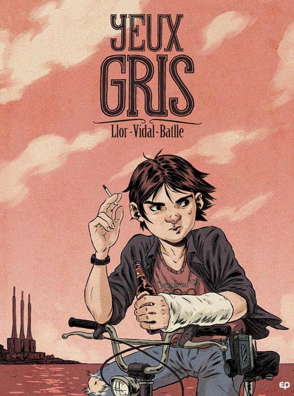 Yeux gris, bd chez EP Editions de Llor, Vidal, Battle
