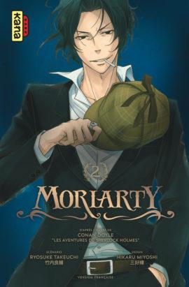 Moriarty T2, manga chez Kana de Takeuchi, Doyle, Miyoshi