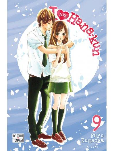 I love Hana-Kun T9, manga chez Delcourt Tonkam de Kuamoka