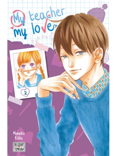 My teacher, my love T2, manga chez Delcourt Tonkam de Koda