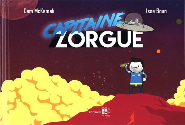 Capitaine Zorgue, bd chez Editions 203 de McKamak, Boun